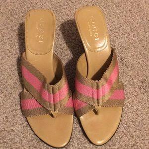 Gucci heels (size 5)